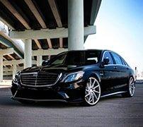 Авто Mercedes Gelandewagen черный