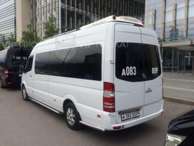 прокат микроавтобусов спринтер 17 мест в алматы