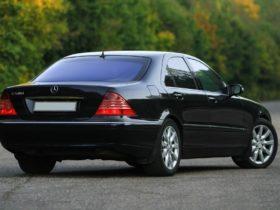 прокат Mercedes-Benz S220 в Алматы