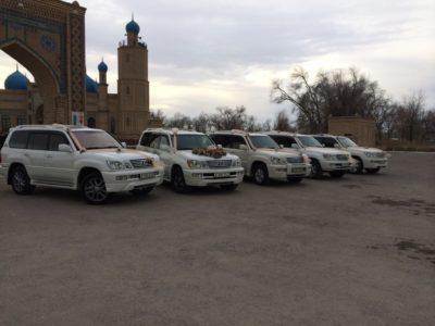 кортеж на свадьбу Lexus LX470 в Алматы