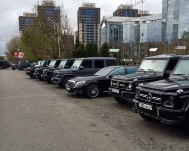 аренда Gelandewagen черный в Алматы