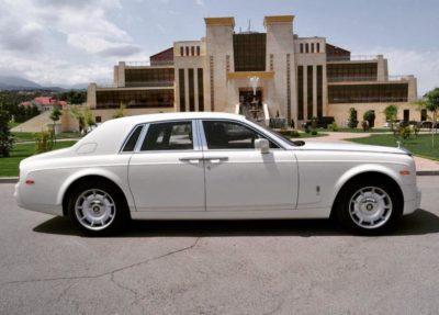 прокат Rolls-Royce Phantom в Алматы