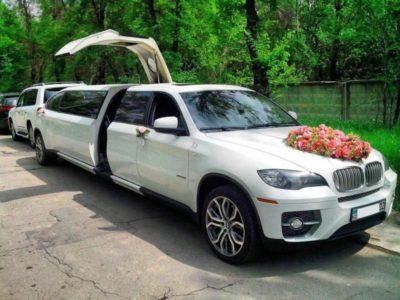 прокат лимузина БМВ Х6 на свадьбу в алматы