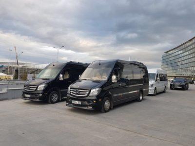 Микроавтобусы Mercedes Sprinter 2017