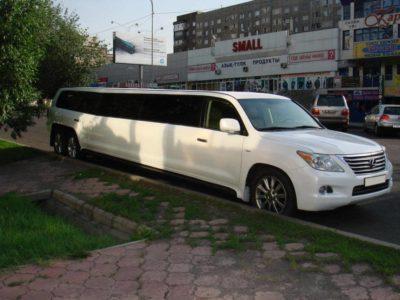 прокат лимузина Lexus LX 570 в Алматы