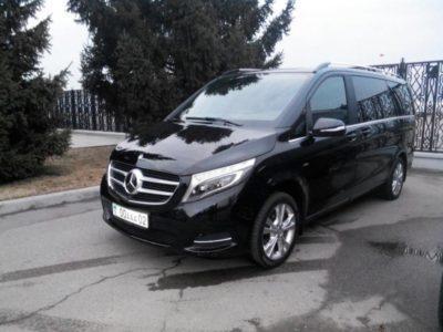 прокат микроавтобуса Mercedes Benz V Class 2016 VIP