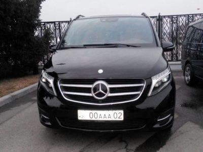заказ минивэна Mercedes Benz V Class 2016 VIP