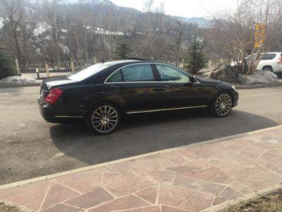 прокат авто Mercedes-Benz S 500 W 221 с водителем в Алматы