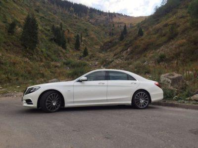 Mercedes Benz W 222 S 500 прокат в Алматы