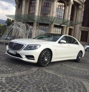 прокат Mercedes Benz W 222 S 500 на свадьбу