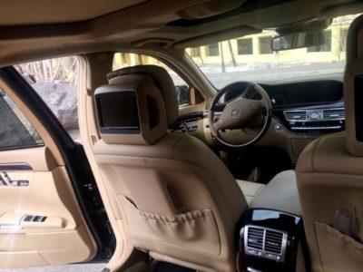 прокат vip авто Mercedes-Benz S 500 W 221 в Алматы с водителем