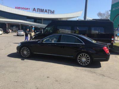 прокат mercedes s 221 в Алматы