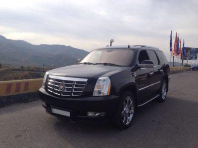 Cadillac Escalade black прокат аренда в Алматы