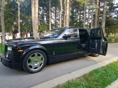 прокат Rolls-Royce Phantom в Алматы с водителем