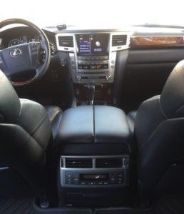 прокат Lexus LX 570 с водителем в Алматы