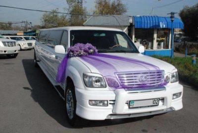 прокат лимузина Lexus LX 470 limousine в Алматы