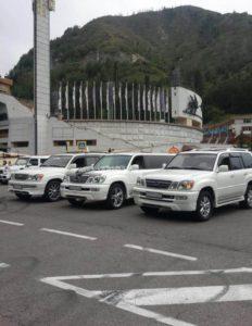 лимузины Лексус заказ в Алматы