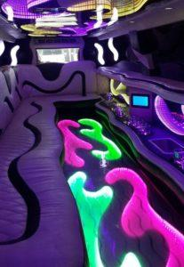 салон лимузина Lexus LX 470 limousine