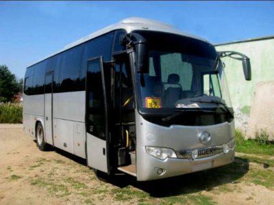 заказать автобус Higer 35 мест в Алматы