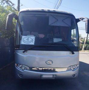 прокат автобусов Higer на 35 мест в Алматы