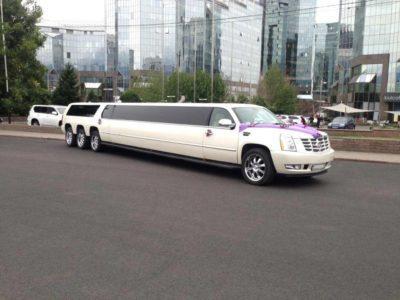 лимузин Cadillac Escalade 8 колес прокат в Алматы