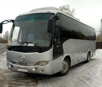 прокат Higer автобус 35 мест
