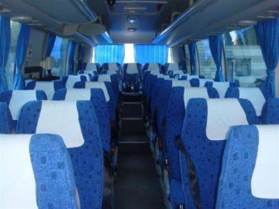 салон Higer автобус 35 мест