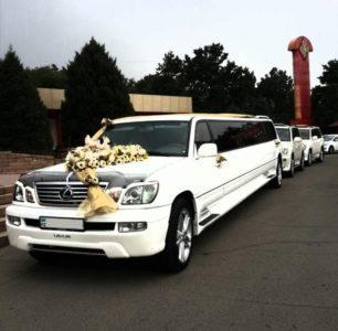 Lexus LX 470 limousine на свадьбу