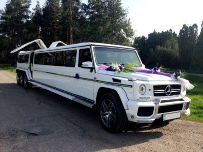 аренда лимузина Gelandewagen 8 колес