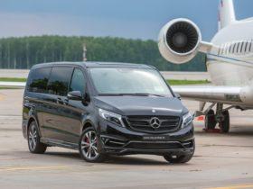 прокат микроавтобуса Mercedes V class 2017