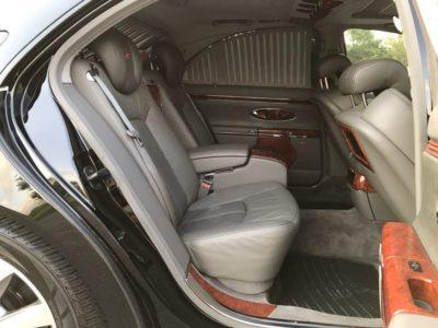 салон автомобиля Maybach S 57