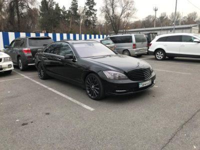 аренда Mercedes-Benz S 500 W 221 с водителем