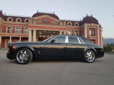 Rolls-Royce Phantom black аренда в Алматы