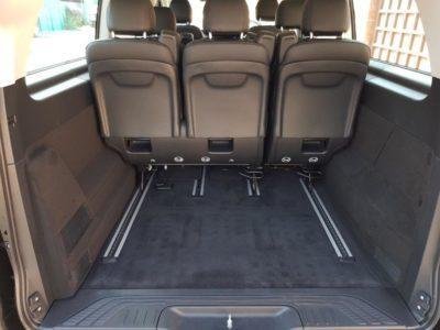 Mercedes V class 2017 место для багажа