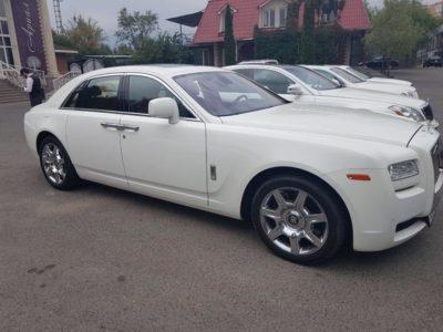 Прокат Rolls-Royce Ghost в Алматы
