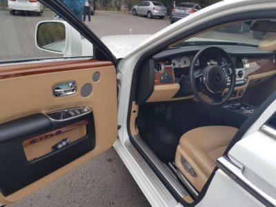 прокат Rolls-Royce Ghost в Алматы с водителем
