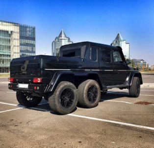 аренда Mercedes benz G63 шести колесный